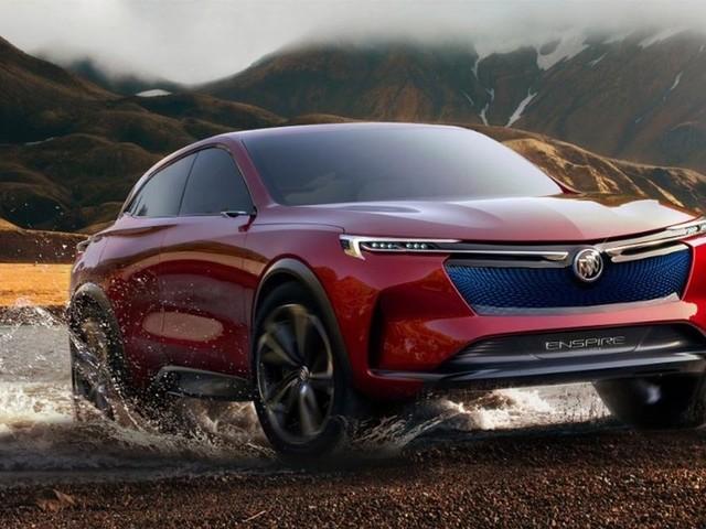 Buick Enspire : un concept de VUS 100 % électrique