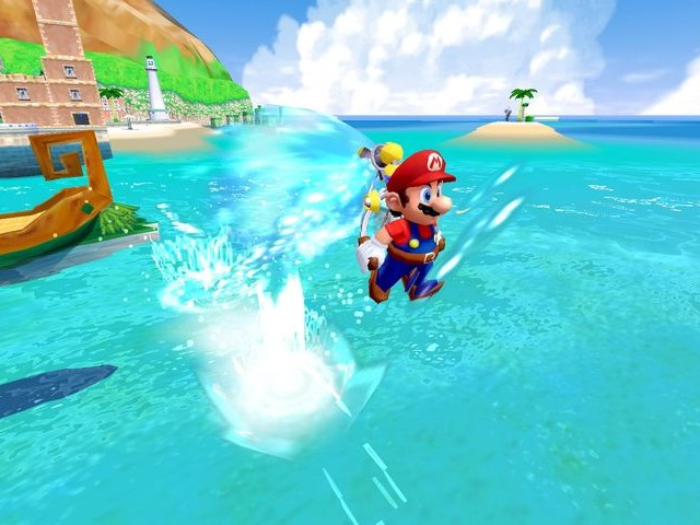 Super Mario 3D All-Stars prend en charge la manette GameCube pour Super Mario Sunshine