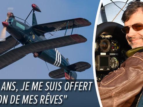 Le Brabançon Benoît Dierickx champion du monde de voltige à bord d'un avion vintage: il nous présente ce sport spectaculaire (vidéo)