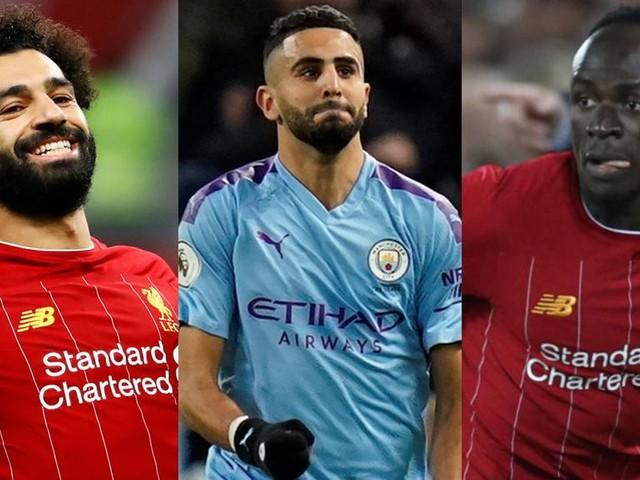 Joueur africain de l'année 2019: ce sera Mahrez, Mané ou Salah