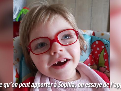 """Sophia, 2 ans, est atteinte de LISSENCÉPHALIE, sa mère doit """"se battre"""" pour obtenir un rendez-vous chez le neuropédiatre"""