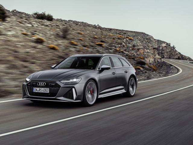 Les photos de la nouvelle Audi RS6 Avant, un V8 de 600 chevaux sous le capot