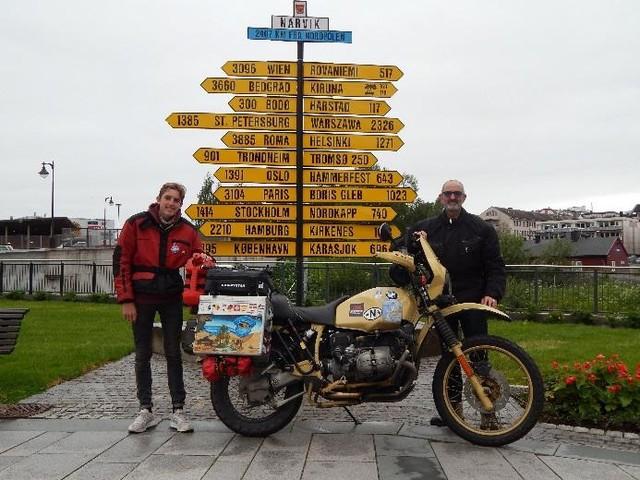 """Voyage : """"Un père, un fils, une moto et un cap"""", à voir sur Motorlive"""