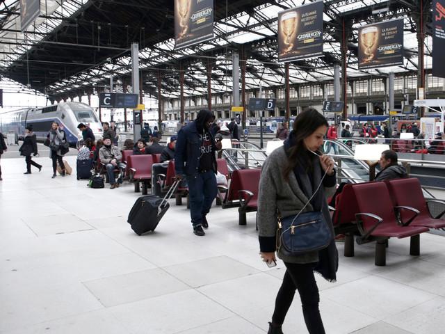 Grève : Une femme met au monde son bébé dans le RER D