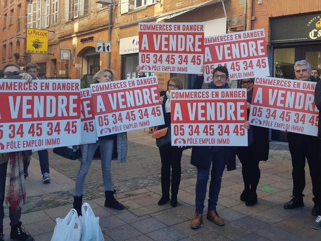 """""""Nous, on revendique le droit de pouvoir travailler"""": à Toulouse, les commerçants attendent les annonces d'Emmanuel Macron, sans illusions"""