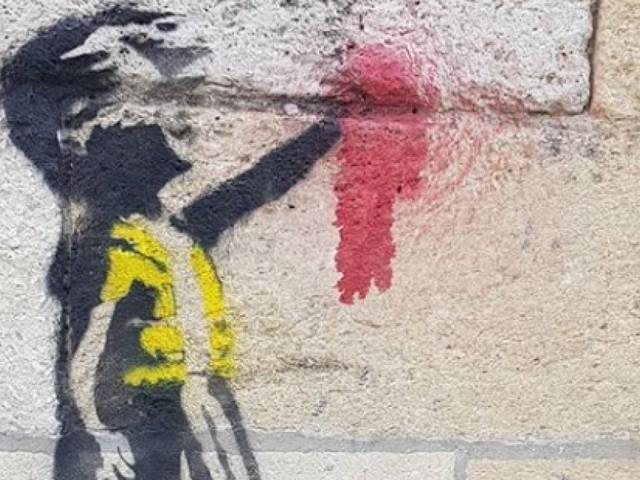 Les gilets jaunes soutenus par Banksy? Certains s'interrogent face à ce dessin