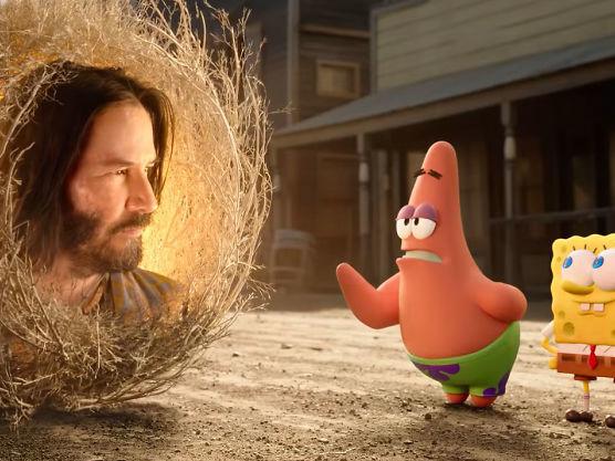 Bob l'Eponge : Eponge en Eaux Troubles s'offre Keanu Reeves dans sa bande-annonce