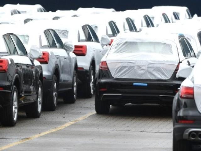Le marché automobile européen plombé par le Royaume-Uni en septembre