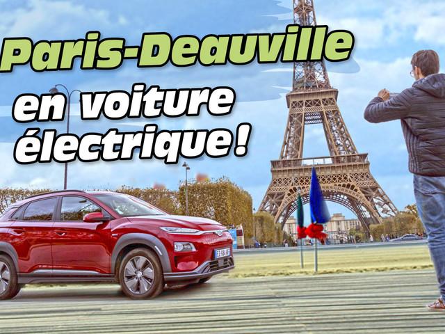 Essai Hyundai Kona EV : Paris-Deauville en voiture électrique