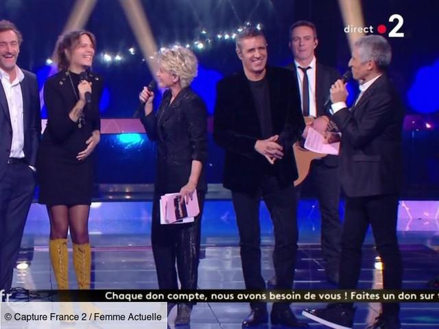 Vanille, la fille de Julien Clerc, est enceinte : Nagui dévoile l'information en direct sur France 2