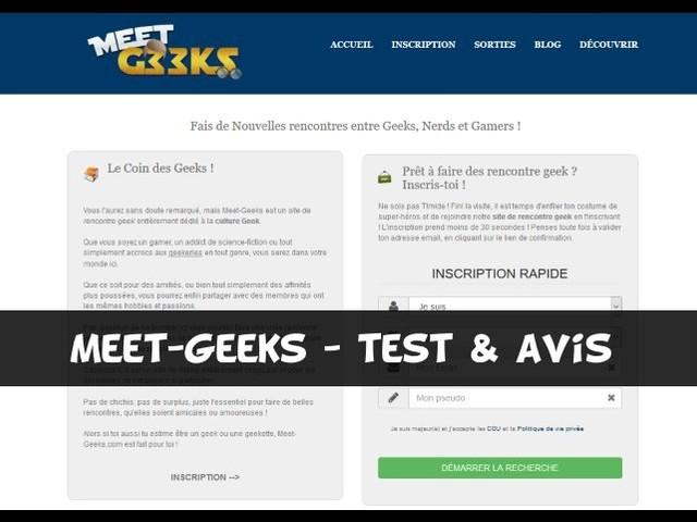 Meet-Geeks.com – Test & Avis
