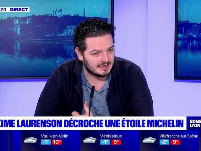 """Guide Michelin: """"à Lyon, on sent cette passion du bien-manger"""" confie le nouveau chef étoilé Maxime Laurenson"""