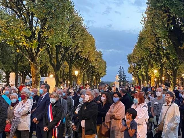 Hommage à Samuel Paty : plusieurs rassemblements ce mercredi en Béarn