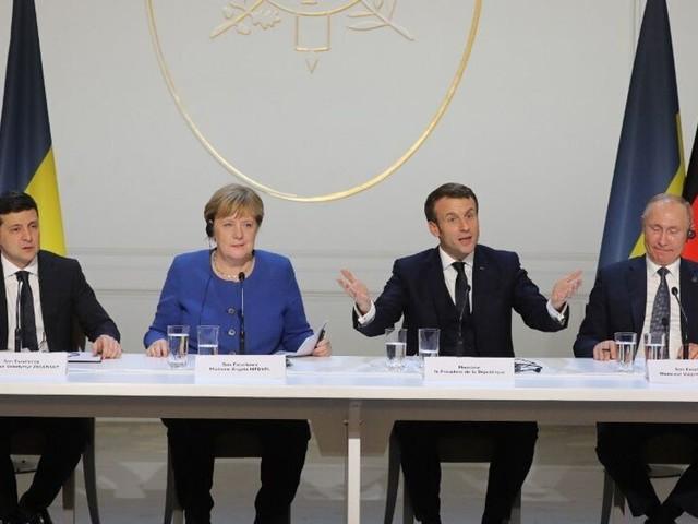 """Le bilan du """"format Normandie"""" sur l'Ukraine à Paris n'a mis personne d'accord"""