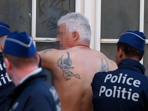 Marche de l'extrême droite interdite à Bruxelles: 43 personnes arrêtées