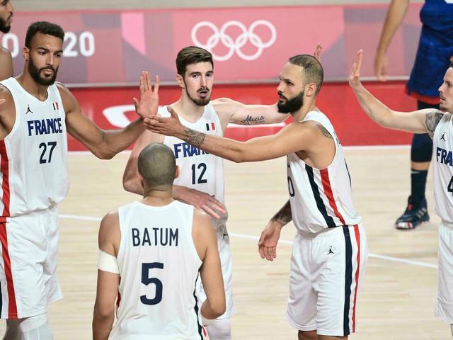 JO-2020/Basket: exploit des Bleus vainqueurs des Etats-Unis d'entrée de tournoi (83-76)