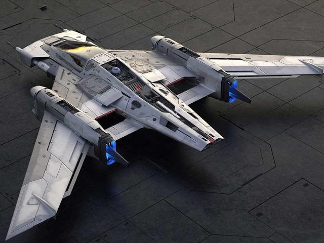 Tri-Wing S-91x Pegasus Starfighter : le vaisseau de Porsche et Lucasfilm arrive !