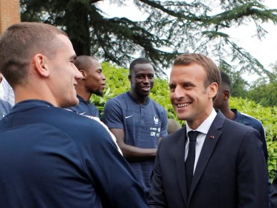 Coupe du Monde 2018 Les Bleus à l'Elysée lundi