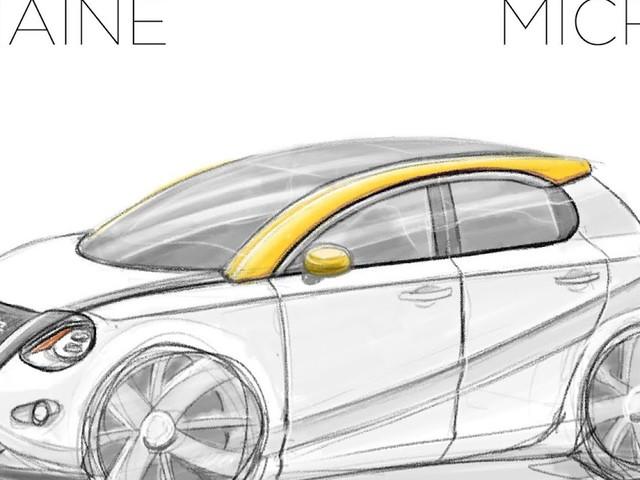 Le Croquis de la semaine, Nissan Micra 6