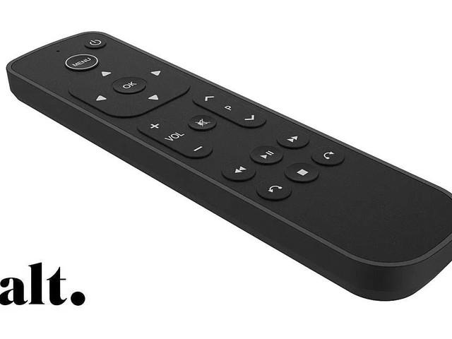 Une télécommande simplifiée pour l'Apple TV dévoilée par Salt