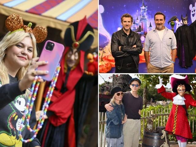 Guillaume Canet, Gilles Lellouche, Louane... fêtent le retour d'Halloween à Disneyland Paris