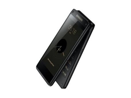 Curiosité : Samsung ouvre son clapet avec un smartphone tactile, au look des années 2000