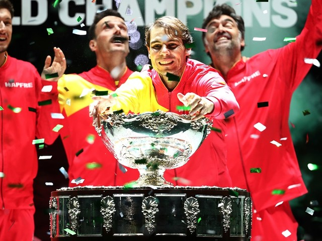 Nadal reprend une Coupe (Davis) avec l'Espagne