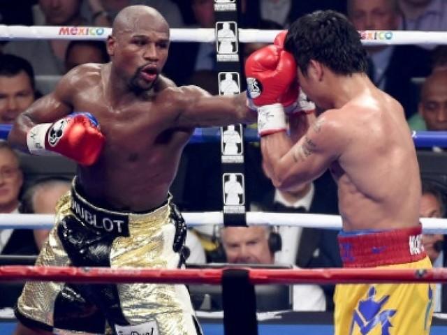 Boxe: Floyd Mayweather sportif le mieux payé de la planète en 2018