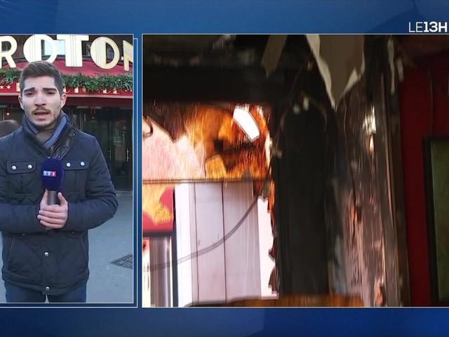Incendie à La Rotonde : la piste de la contestation politique privilégiée