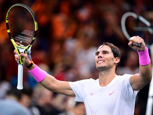 Masters 1000 de Paris: Nadal met fin au joli parcours de Tsonga