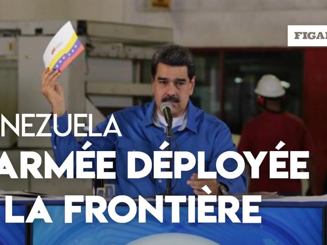 Venezuela : Maduro décrète des exercices militaires à la frontière colombienne