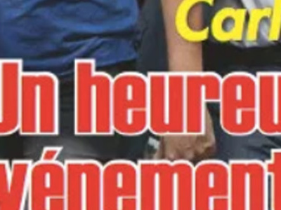 Carla Bruni-Sarkozy «heureux événement», étonnante confidence
