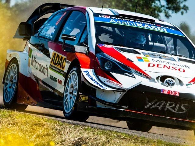 Rallye – WRC – Allemagne : Tänak signe le premier temps scratch