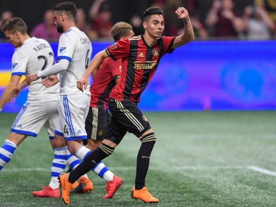 Foot - Transferts - Le Paraguayen Miguel Almiron pourrait rejoindre Arsenal au mois de janvier