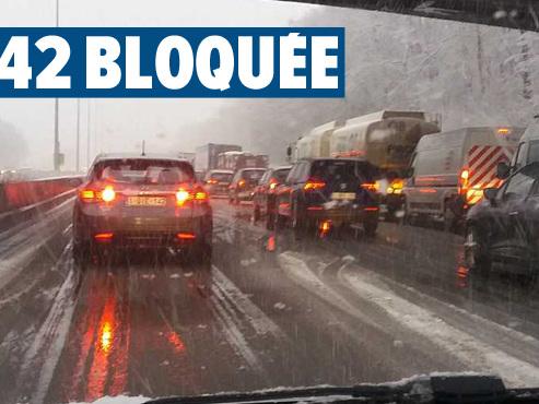 Conditions de circulation difficiles ce matin: déjà plusieurs accidents en région liégeoise
