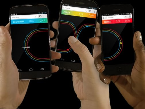 Nintendo réinvente le Chrome Racer de Google… pour la Switch ?