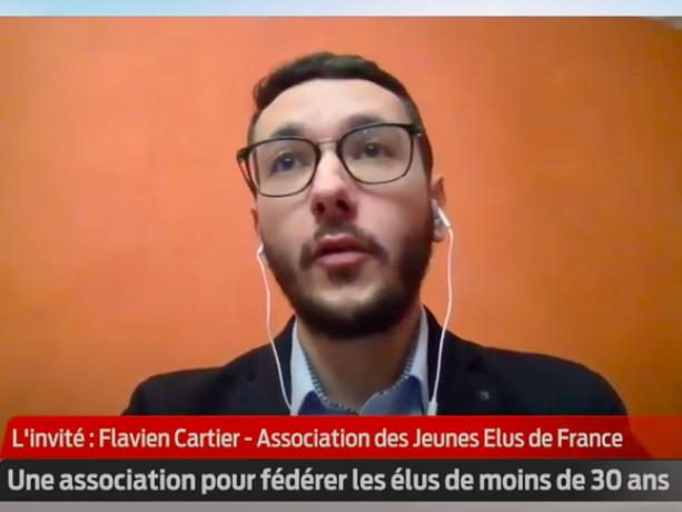 """Vidéo. Politique : """"Il faut que les jeunes aient confiance"""", d'après Flavien Cartier des jeunes élus de France"""