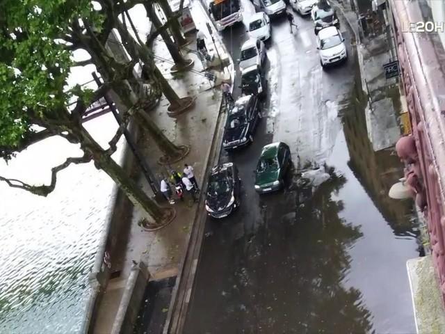 VIDÉO - Rhône-Alpes : de violents orages s'abattent sur la région, notamment à Lyon