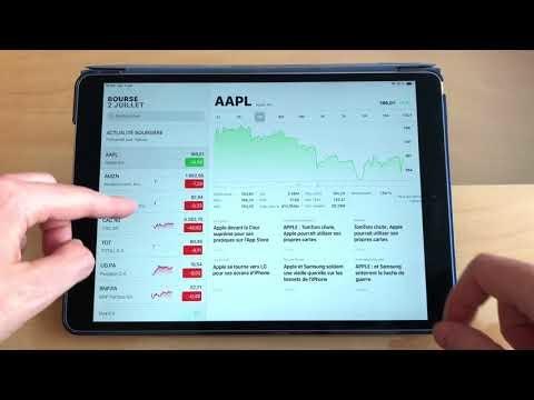 Découvrez la nouvelle application bourse d'iOS 12 en vidéo !
