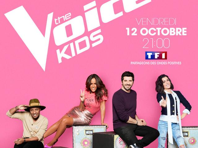 De nombreux jeunes talents devant les 4 coachs de The Voice Kids, dès ce vendredi sur TF1.