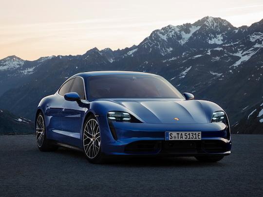 L'autonomie électrique de la Porsche Taycan décevante aux USA