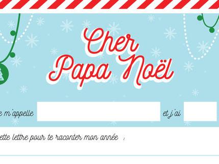 Comment faire sa lettre au Père Noël?