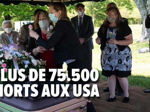 Coronavirus - BILAN MONDIAL: plus de 2.400 morts en 24h aux Etats-Unis, le pays le plus touché
