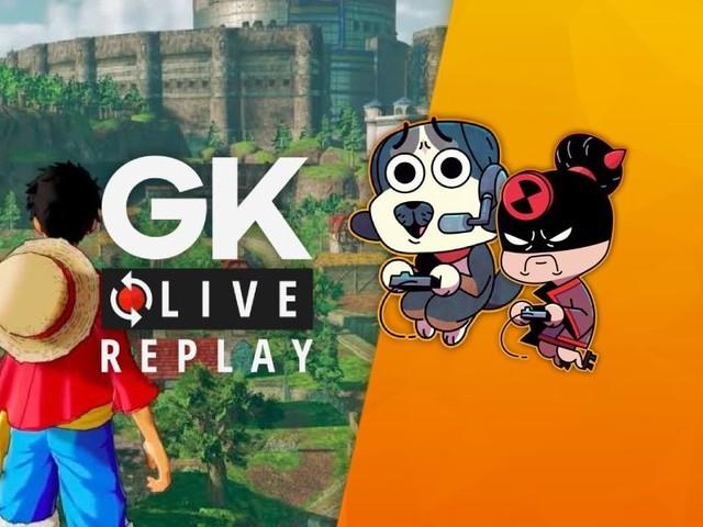 Gk live (replay) - Le capitaine Yukishiro et son moussaillon Luma partent à l'abordage de One Piece World Seeker