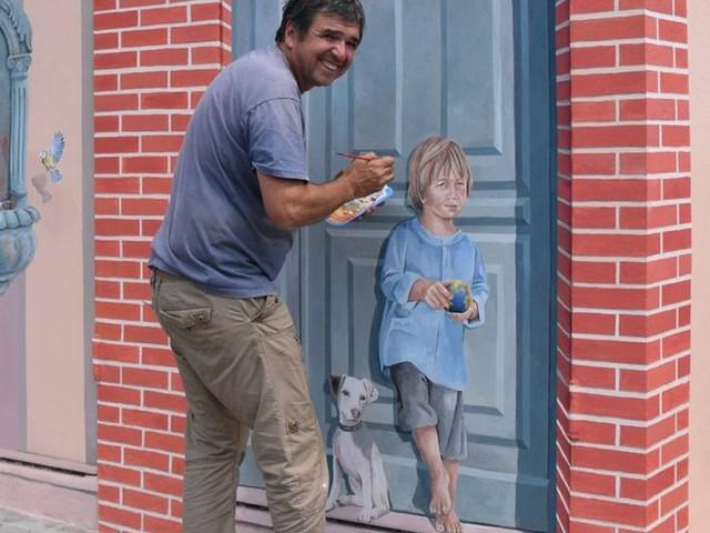 Balma. Alain Belmonte transforme les transformateurs en peinture