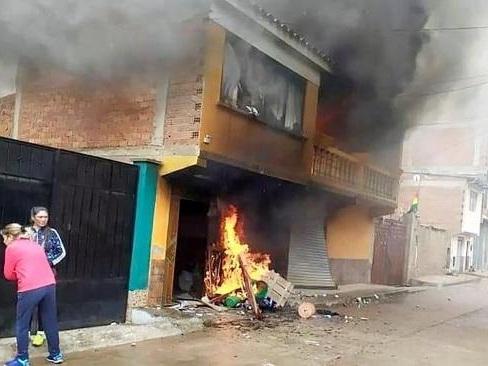 Elections en Bolivie - Violences à La Paz et El Alto après la démission d'Evo Morales