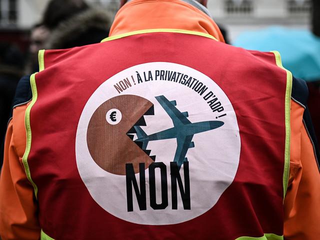 Privatisation d'ADP : le cap du million de soutiens franchi pour le projet de référendum d'initiative partagée