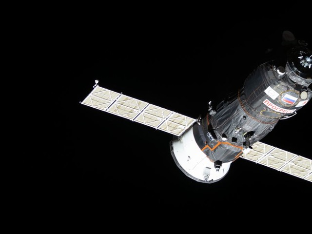 Ravitaillement de l'ISS en un temps record après décollage