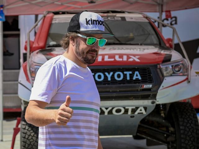 Fernando Alonso au Rallye du Maroc pour préparer le Dakar