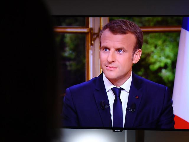 Enfin, je me suis senti fier d'être représenté par le président Macron et sa parole